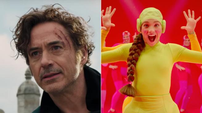 Robert Downey Jr. y Maddie Ziegler en 'Dolittle' y 'Music'
