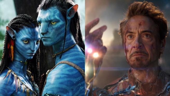 'Avatar' y 'Vengadores: Endgame'