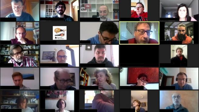 Reunión telemática del Comité Nazional de CHA.