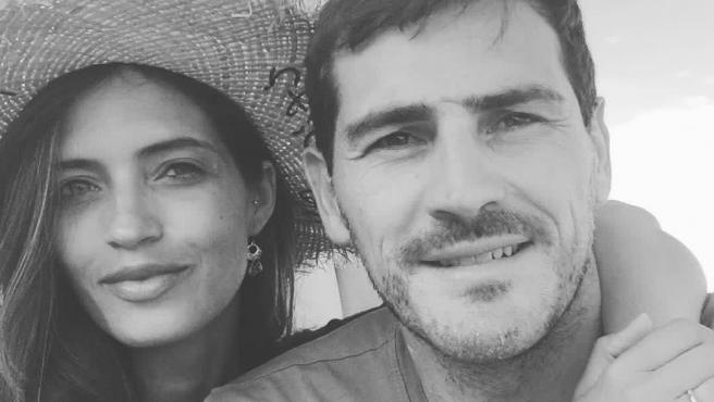 Sara Carbonero e Iker Casillas, en una imagen compartida por ambos en Instagram.