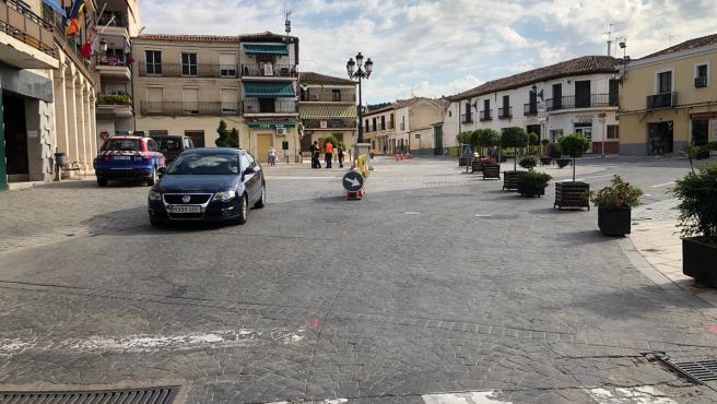 Archivo - Plaza Mayor de Morata de Tajuña