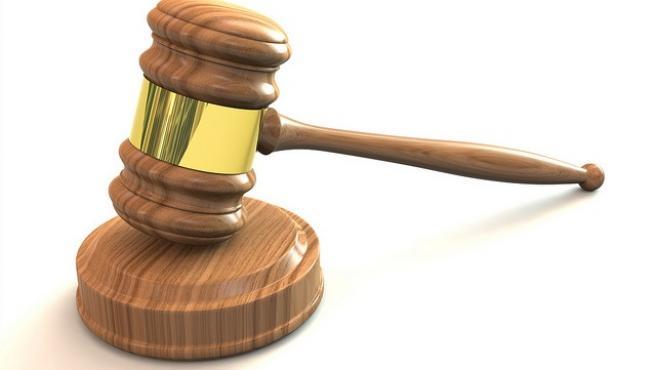 Archivo - Mazo de juez en un juicio