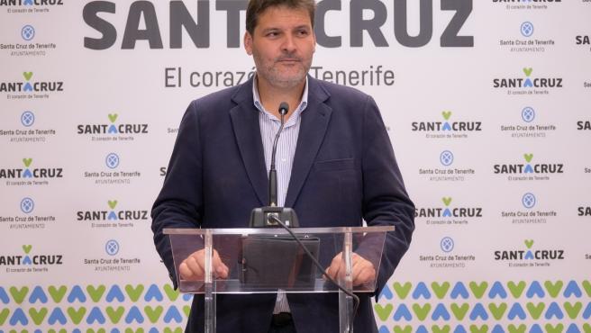 Archivo - José Ángel Martín, concejal del Ayuntamiento de Santa Cruz de Tenerife