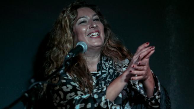 Archivo - La cantaora Estrella Morente ofrece un concierto en la XV edición del Festival Suma Flamenca de Madrid (España)