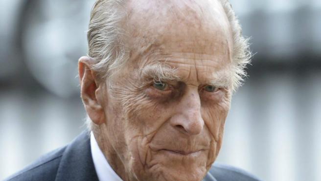 El duque de Edimburgo.