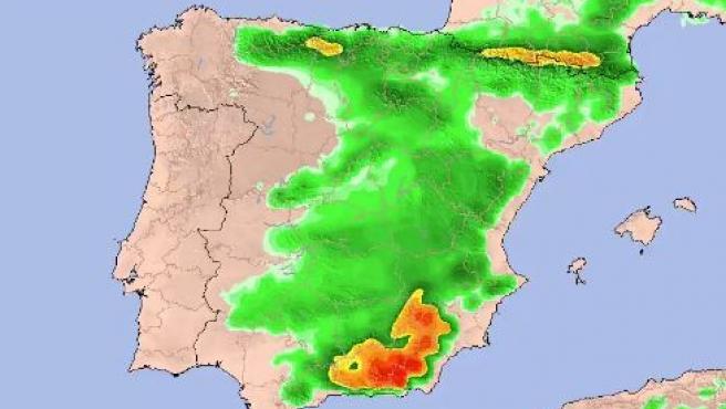 Entrada de nieve en España en San José