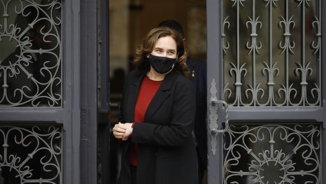 La alcaldesa de Barcelona, Ada Colau, en una foto de archivo.