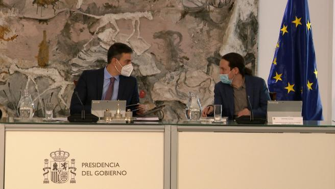 La salida de Pablo Iglesias del Gobierno acapara el Consejo de Ministros