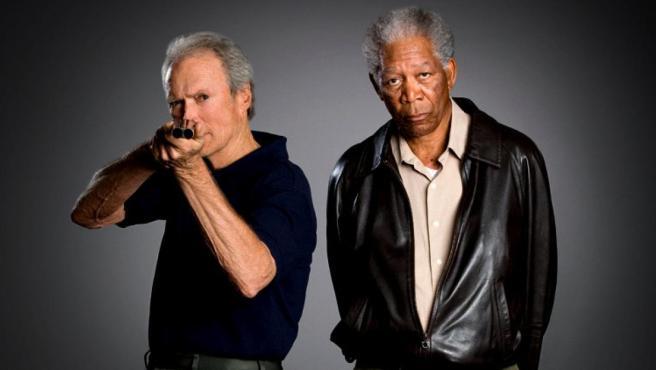 Clint Eastwood y Morgan Freeman