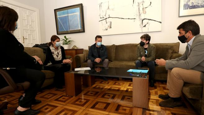 Diputacion De Alicante Mazon Se Reune Con Adema / Agenda Social