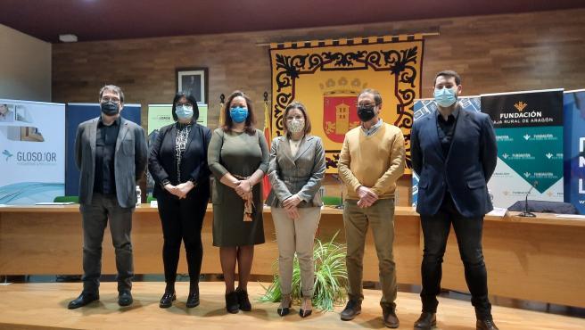 Inauguración del I Salón del Libro de Villanueva de Gállego, que reunirá a autores de prestigio nacional