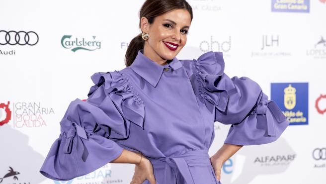 La actriz y presentadora Marta Torné en un evento en Gran Canaria.