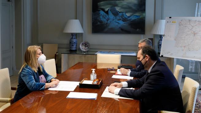 La alcaldesa de Jerez con el ministro Ábalos