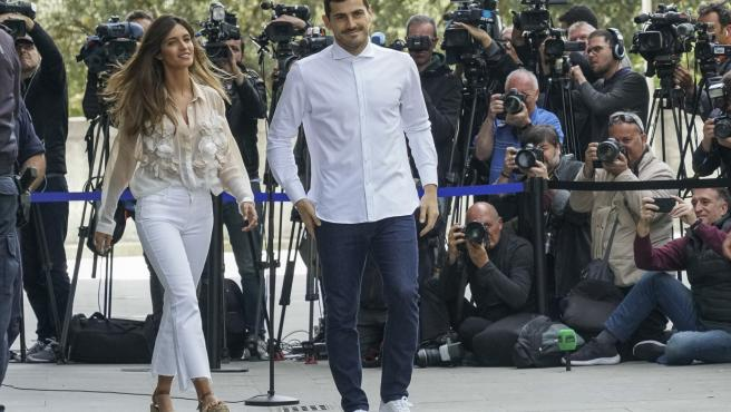 Sara Carbonero e Iker Casillas, en una imagen de archivo