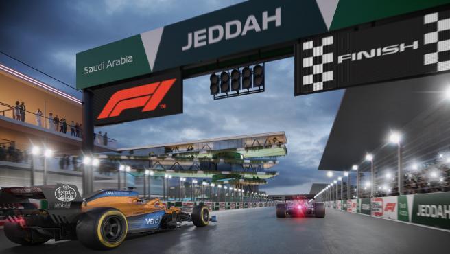 Así lucirá el GP de Arabia Saudí