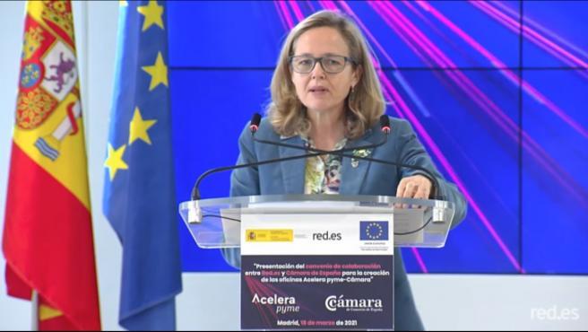 """Calviño ve """"urgente"""" acelerar el proceso de transformación y digitalización de las pymes"""
