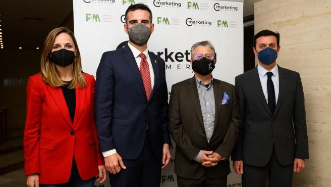 El alcalde destaca en el Club de Marketing la gran capacidad de almerienses para sobreponerse a dificultades