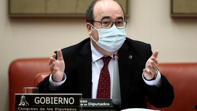 Iceta avanza sanciones contra la temporalidad pública y prevé limitar el encadenamiento de contratos
