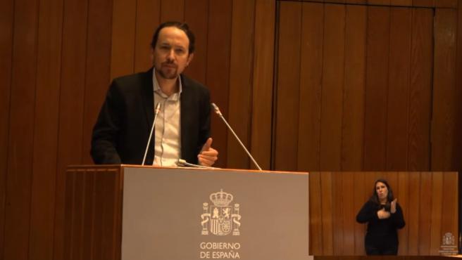 """Iglesias sobre la ley de vivienda: """"El acuerdo está para cumplirse"""""""
