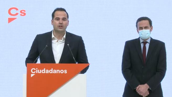 Ignacio Aguado, en su comparecencia