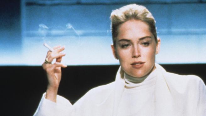 Sharon Stone en 'Instinto básico'