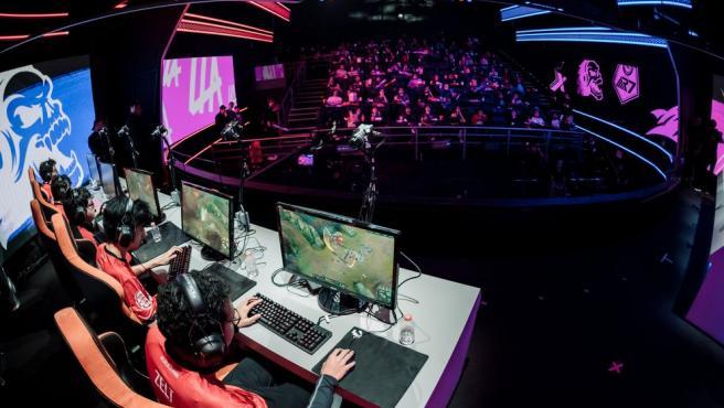 Imagen de archivo de un torneo de deportes electrónicos.