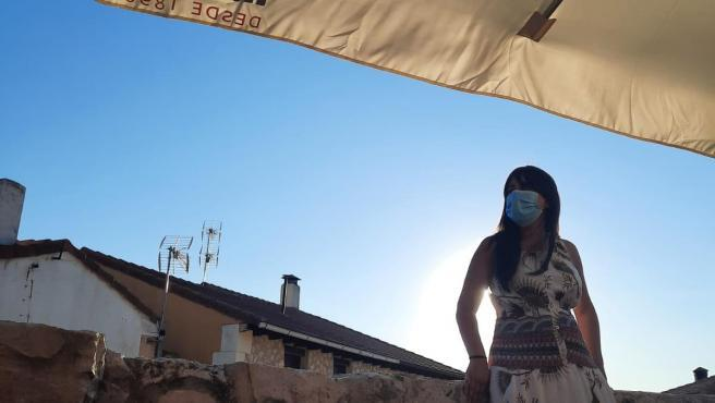 Laura se mudó desde Madrid a Miño de San Esteban, Soria, tras el confinamiento.