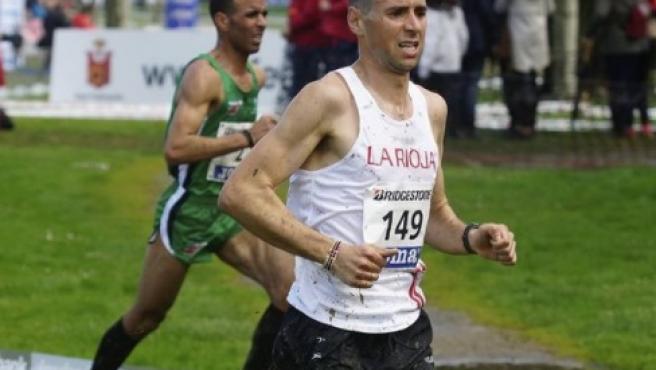 Camilo Alonso Santiago, el corredor que ha batido el récord de Honduras.