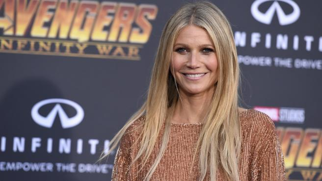 Gwyneth Paltrow en la premiere mundial de 'Vengadores: Infinity War'
