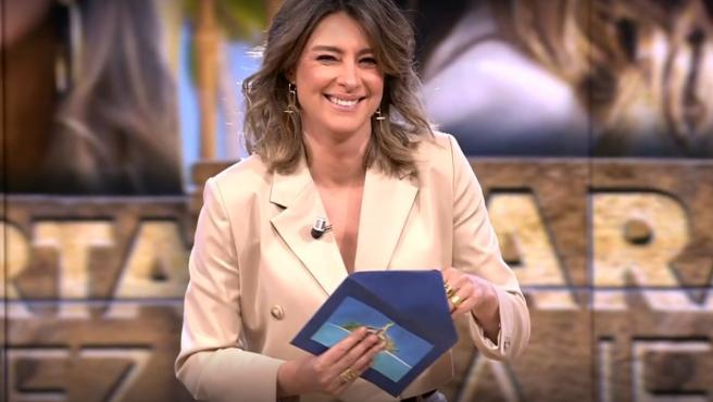 Sandra Barneda, en el Debate de 'La isla de las tentaciones'.