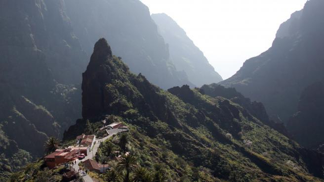 Vista de Masca, en Tenerife.