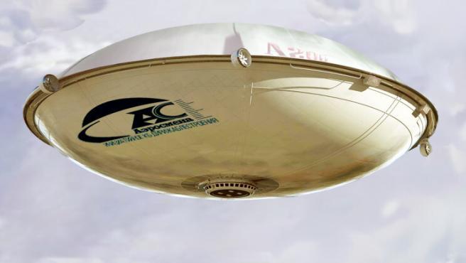 La aeronave tendrá forma de platillo volante con el fin de moverse más fácilmente y aterrizar incluso con vientos cruzados.