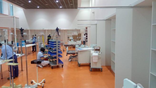 Archivo - Nuevas camas UCI habilitadas en el Hospital Universitario Central de Asturias (HUCA) para pacientes con coronavirus, COVID-19.