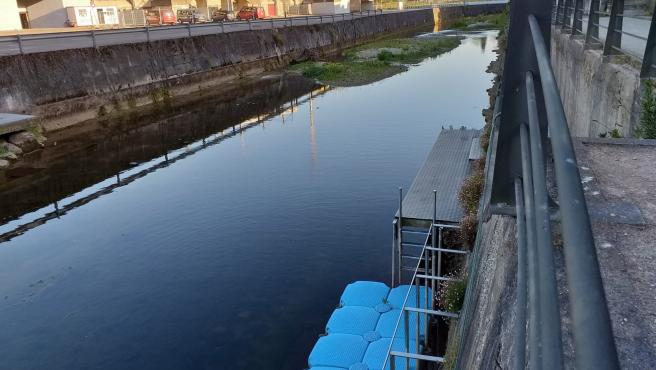 Archivo - Río Piles, a su paso por el embarcadero del anillo navegable