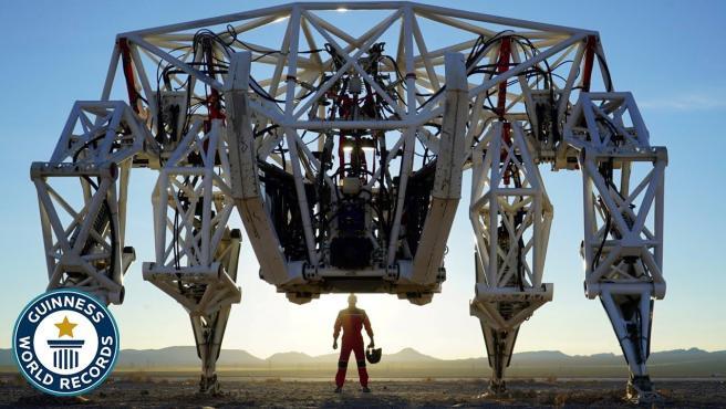 Así es el exoesqueleto de tetrápodos más grande del mundo