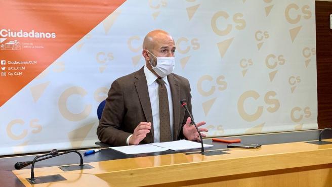 El diputado de Cs en las Cortes de C-LM, David Muñoz Zapata
