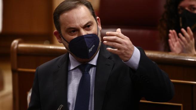 El ministro de Transportes y secretario de Organización del PSOE, Jose Luis Ábalos.
