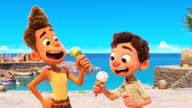 Imagen de 'Luca', el nuevo estreno de Pixar que veremos en Disney+.