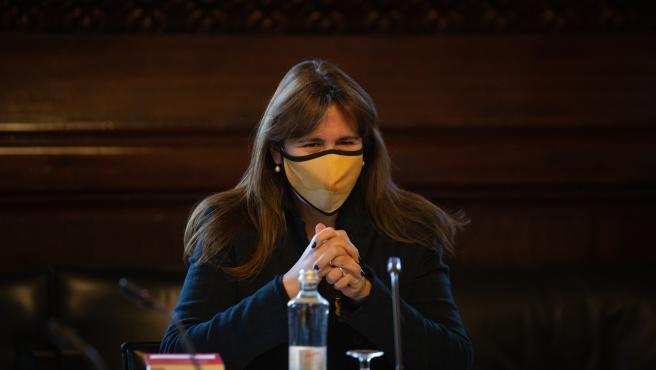 La presidenta del Parlament, Laura Borràs, en una imagen de archivo.