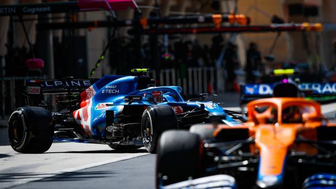 Alpine y McLaren