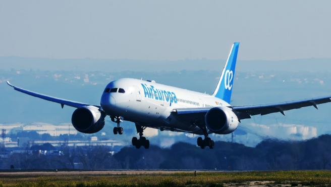 Archivo - Un avión de Air Europa