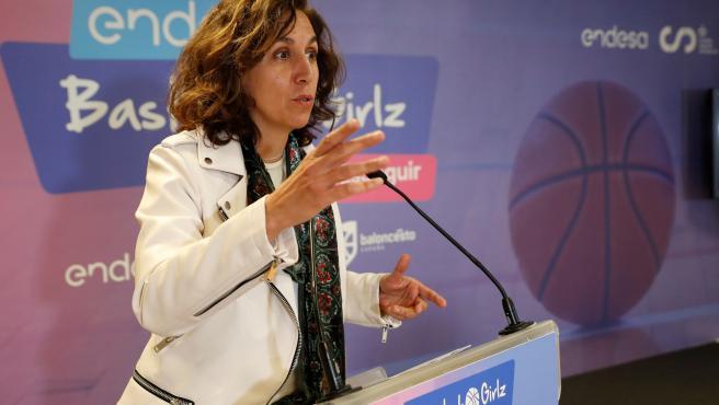 Irene Lozano, en un acto el martes pasado.