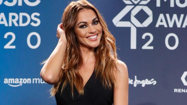 The presenter Lara Álvarez, in a file image.