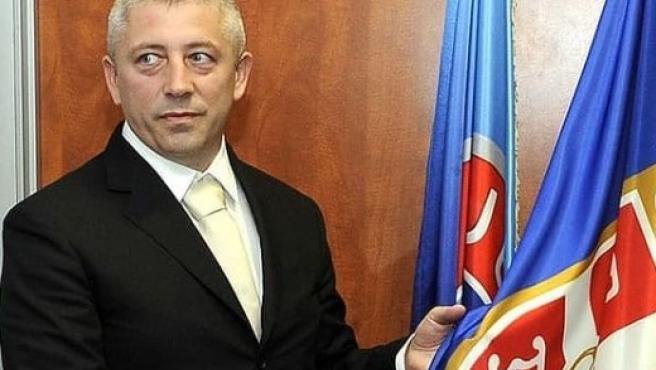 Slavisa Kokeza, expresidente de la Federación de Serbia.