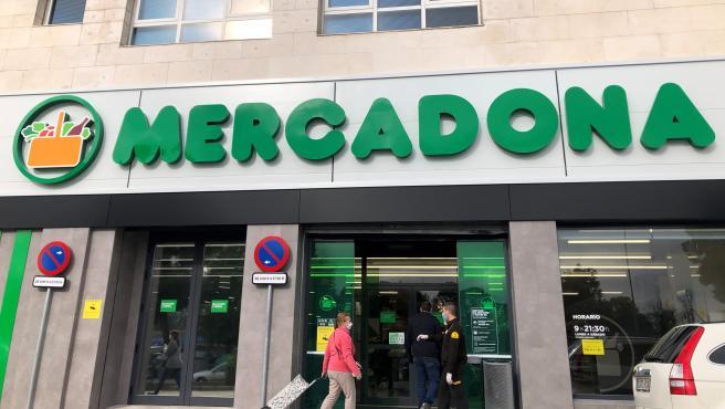 Foto de archivo de un supermercado Mercadona.