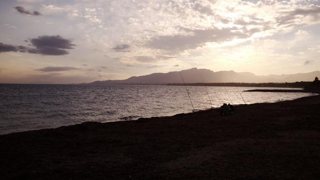 Playa de la Pixerota, en Mont-roig del Camp, en la Costa Dorada.