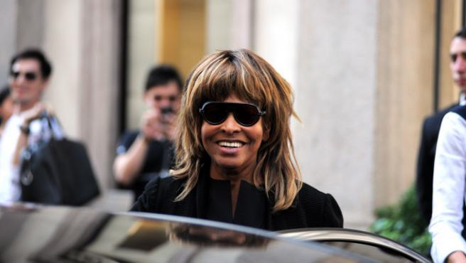 Tina Turner en Milán.
