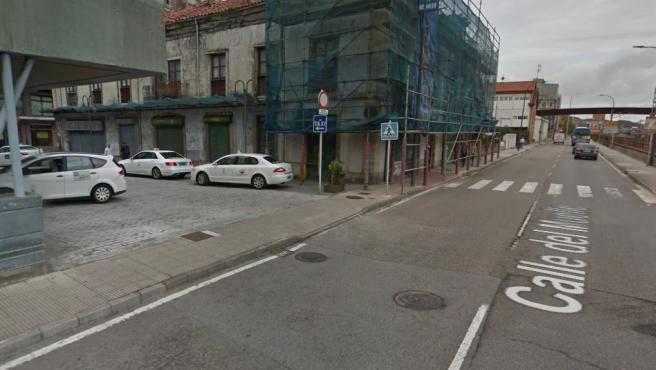 Imagen de archivo de la calle donde ha sucedido el accidente.