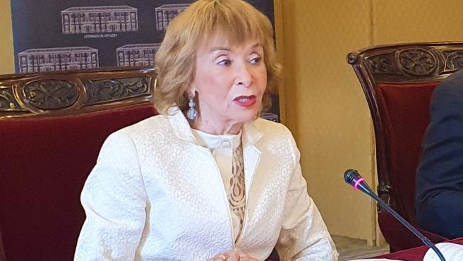 Archivo - La presidenta del Consejo de Estado, María Teresa Fernández de la Vega