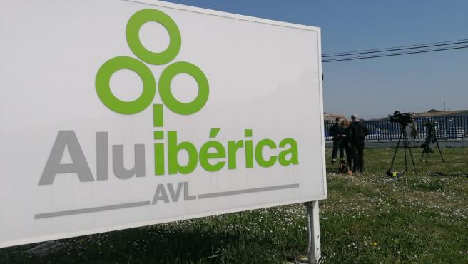Instalaciones de Alu Ibérica, antigua Alcoa.